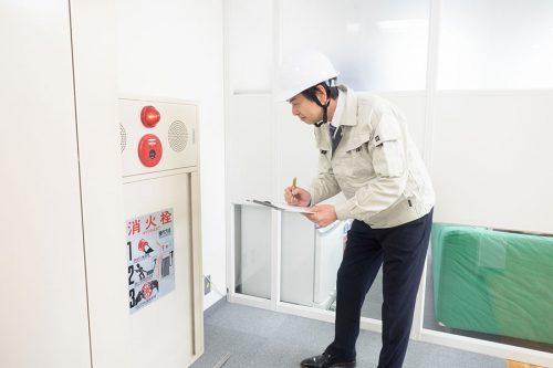 消防設備点検の事例